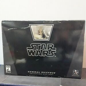 Gentle Giant Star Wars General Grievous Collectibles Mini Bust New in Box