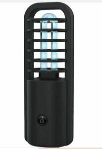 """TJ Riley UV Sanitizer Lamp 5-1/2"""" x 2"""" x 2-7/16"""" Black"""