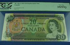 1969 $20 Canada Beattie Rasminsky replacement note BC-50aA *EM PCGS 35PPQ