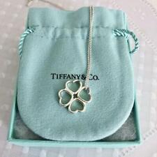 Tiffany necklace heart clover limited F/S JAPAN
