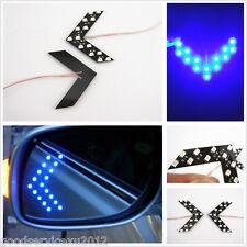 2 Pcs 14-SMD Arrow Lights Turning Signal Indicator Lamps Blue For Infiniti Q50