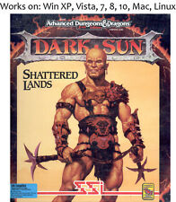 Dark Sun Shattered Lands + Wake of the Ravager 1993 PC Mac Linux Games
