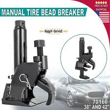 70160 Manual Tire Bead Breaker Loosens Rim Wrench Repair Tool Leverage