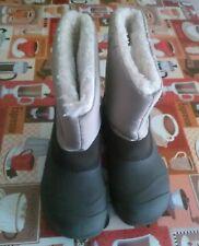 lotto 863 scarpe stivali imbottiti bimbo bambino montagna neve QUECHUA n. 32/33