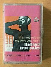THE BRAND NEW HEAVIES Best of Acid Jazz Years PHILIPPINES SEALED NOS Cassette