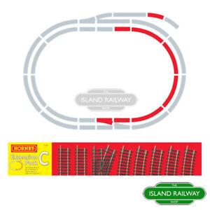 Hornby R8223 Track Extension Pack C Standard Single OO Gauge 1:76 Scale