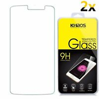 [2PK] HD Tempered Glass Screen Protector For ZTE MAX XL/N9560 /ZTE Blade MAX 3