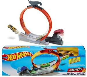 HOT WHEELS FTH82 LOOP STAR PLAY SET ACTION CLASSIC ICONIC CAR TRACK LAUNCHER TOY