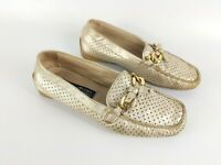 Stuart Weitzman For Russell And Bromley Leather Mocassin Shoes UK 3 EU 36