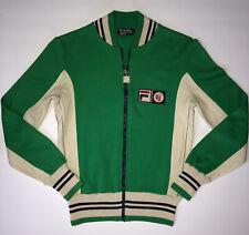 Vintage 70s Fila BJ Bjorn Borg Settanta MK1 US 32 Green Tennis Track Jacket