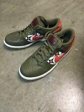 452ffd4e Nike Dunk Low Mens Sz 9 Green Pine Sneakers Shoes