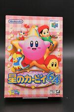 Complete Kirby Nintendo 64 N64 Import Japan