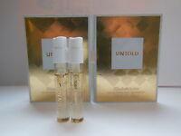 2 x Elizabeth Arden Untold EDP 1.5ml mini sprays