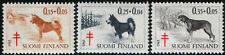 Finland 1965 Dogs Finnish Spitz, Karelian Bear Dog, Mnh