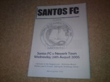 SANTOS FC v NEWARK TOWN - AUG 24 2005