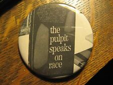 Alfred T Davis The Pulpit Speaks On Race 1965 Church Advertisement Pocket Mirror