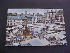 Market Place Northampton UK Postcard