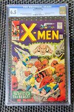 X-MEN 15 1965 CGC 6.5 Fine + Silver age Marvel Comics