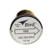 Bird 10C Plug-in Element 0 to 10 watts for 100-250 MHz for Bird 43 Wattmeters