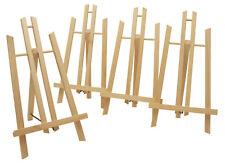Display-/ Tischstaffelei 4er-Set, je 30cm hoch, Sitzstaffelei Schule Bildhalter