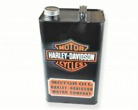 Harley Davidson Classic Oil Vintage Decorative Garage Petrol Fuel Jerry Can BLK