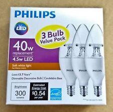 21 Philips led light bulb in soft white