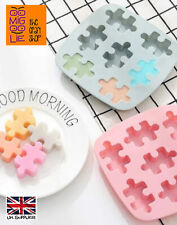 Puzzle Shape Silicone Wax Melt Mold Chocolate Candy Mould Sweets Ice Cubes Cake