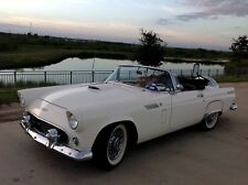 1956 Ford Thunderbird Black & White leather, clean