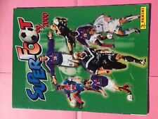 ALBUM PANINI FOOTBALL SUPER FOOT 99/2000 EN  BON ETAT & COMPLET A 75%