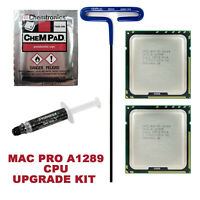 12 Core 2010 2012 Apple Mac Pro 5.1 X5690 x2 3.46GHz XEON CPUs 5,1 Upgrade Kit