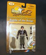 1:18 Ultimate Soldier WWII U.S Army General George S Patton Battle Bulge Figure