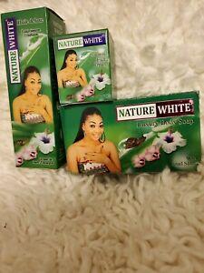 NATURE WHITE SET SOAP/FACE CREAM/BODY OIL.