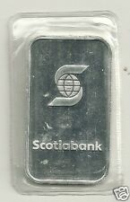 Scotiabank .999 Silver Oz  Bar