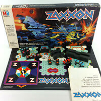 Zaxxon Board Game Based On Sega Arcade Game Vintage 1982 Milton Bradley Rare