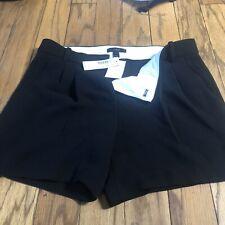 NWT JCrew Black Shorts Size 0