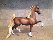 Custom Painted  Peter Stone American Saddlebred Traditional Horse Breyer OOAK