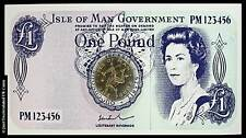 1978 £1 Coin - Isle of Man - World's First One Pound Virenium Coin