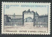 France 1954 MNH Mi 1014 Sc 728 Royal residence of France,Versailles Gate **