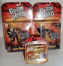 Guitar Hero SET Axel Steel + Lars Umlaut biondo figure McFarlane + omaggio
