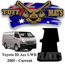 0Toyota Hiace LWB 2005 - Onward Tuff Mat Ribbed Rubber Van Cargo Area Mat Hi Ace