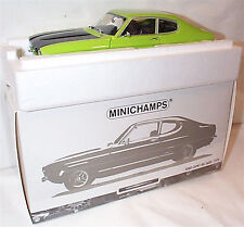 Ford Capri Mk1 RS 2600 1970 Green & Black New Boxed Item 1-18 Scale ltd edition