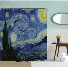 Van Gogh Starry Night Shower Curtain Brand New 70 X 72 Art Impressionist