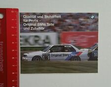 Aufkleber/Sticker: Original BMW Teile - BMW M Power (22031651)