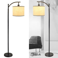 Floor Lamp Standing Light Lampshade with Bulb For Reading Modern Home Office Us