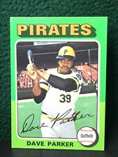 Topps 1975 Mini Card # 29 Dave Parker ( The Cobra) In Very Good Condition