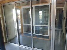 SLIDING DOOR | ALUMINIUM - DOUBLE GLAZED - 2110H X 2710W | RIGHT LOCK