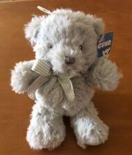 "Baby Gund Grayson Bear Rattle Plush - 6"""
