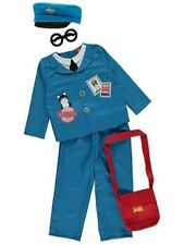 Postman Pat Boys Fancy Dress Costume Outfit World Book Day 1-2 2-3 Years
