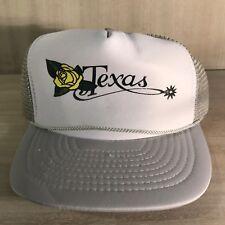 New ListingVintage•Yellow Rose•Texas•SnapBack•Trucker Hat•Cap 63f63610b061