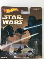 HOT WHEELS RALPH MCQUARRIE STAR WARS FORD TRANSIT SUPERVAN REAL RIDERS